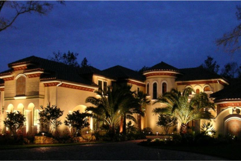 landscape outdoor lighting naples