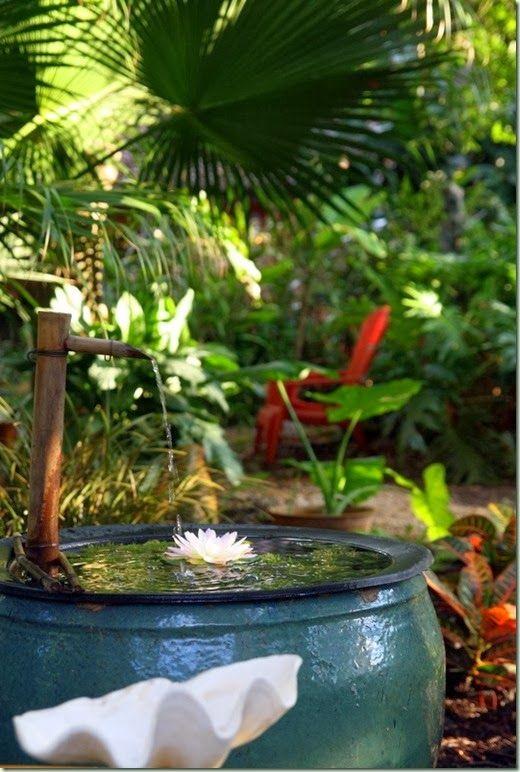 tropical zen bubbler