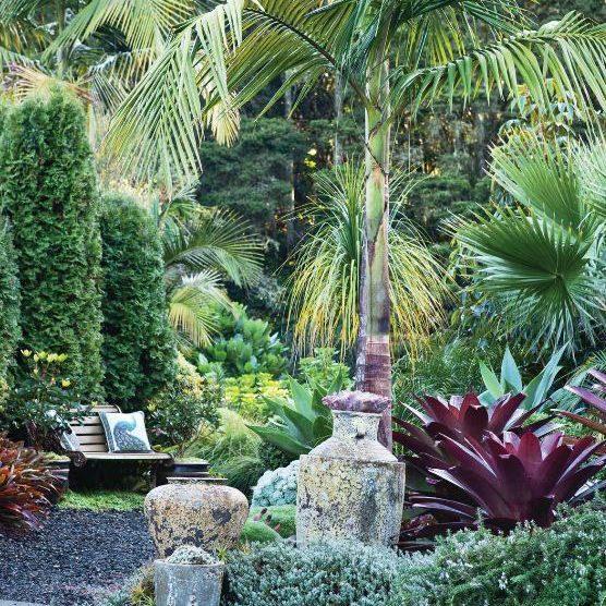 japanese planting garden
